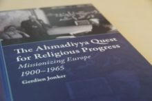 "Towards entry ""The Ahmadiyya Quest for Religious Progress. Missionizing Europe 1900 – 1965"""
