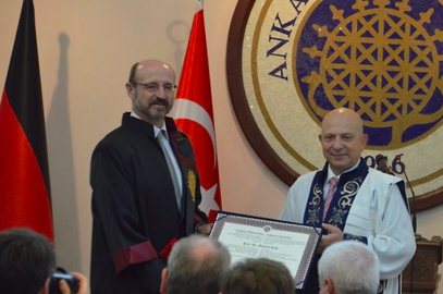 "Towards entry ""Mathias Rohe was awarded an honorary doctorate from the University of Ankara"""