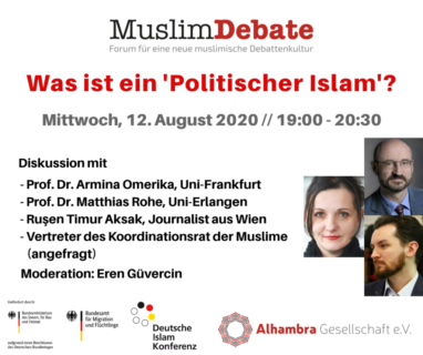 "Towards entry ""Mathias Rohe in a talk about the ""political Islam"" in Germany"""